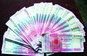 1000 taka money